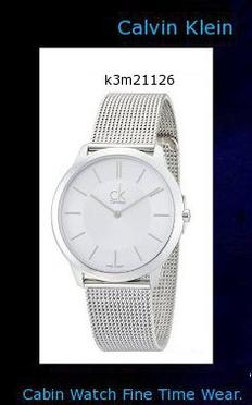 Watch Information Brand, Seller, or Collection Name Calvin Klein Model number K3M21126 Part Number K3M21126 Item Shape Round Dial window material type Mineral Display Type Analog Case material Stainless Steel Case diameter 40 millimeters Band Material Stainless steel Band length Men's Standard Band width 1 inches Band Color Silver Dial color Silver Special features Analog Movement Quartz Water resistant depth 100 Meters,calvin klein canada