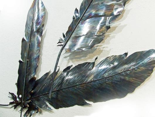 The Natural Accents Gallery of Taos is exhibiting the works of Wendy Ray, Metals Sculptor