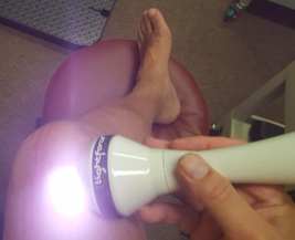 Laser Therapy to knee
