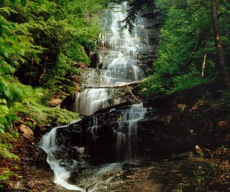 Lye Brook Falls