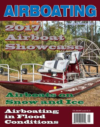 Airboat Magazine Nov Dec Racing, Hunting, Rescue
