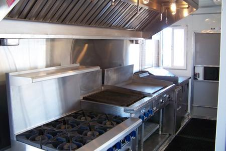 Temporary Kitchen Rentals: Eagle 20' Interior View