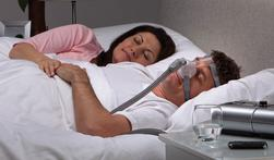 Sleeping with CPAP