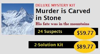How to Host an Alaska Inside Passage Murder Mystery Party Kit
