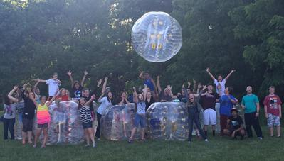 bubble soccer michigan