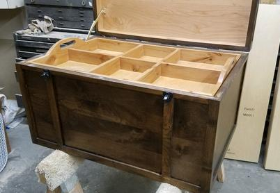 Custom Made Steam Trunk