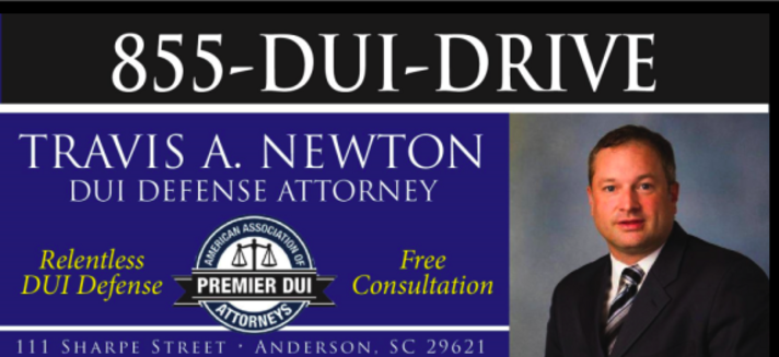 DUI Defense Attorney (Anderson, SC)