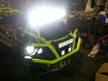 ATV Custom LED lights