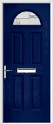 4 Panel 1 Arch Composite Door regal corenet glass
