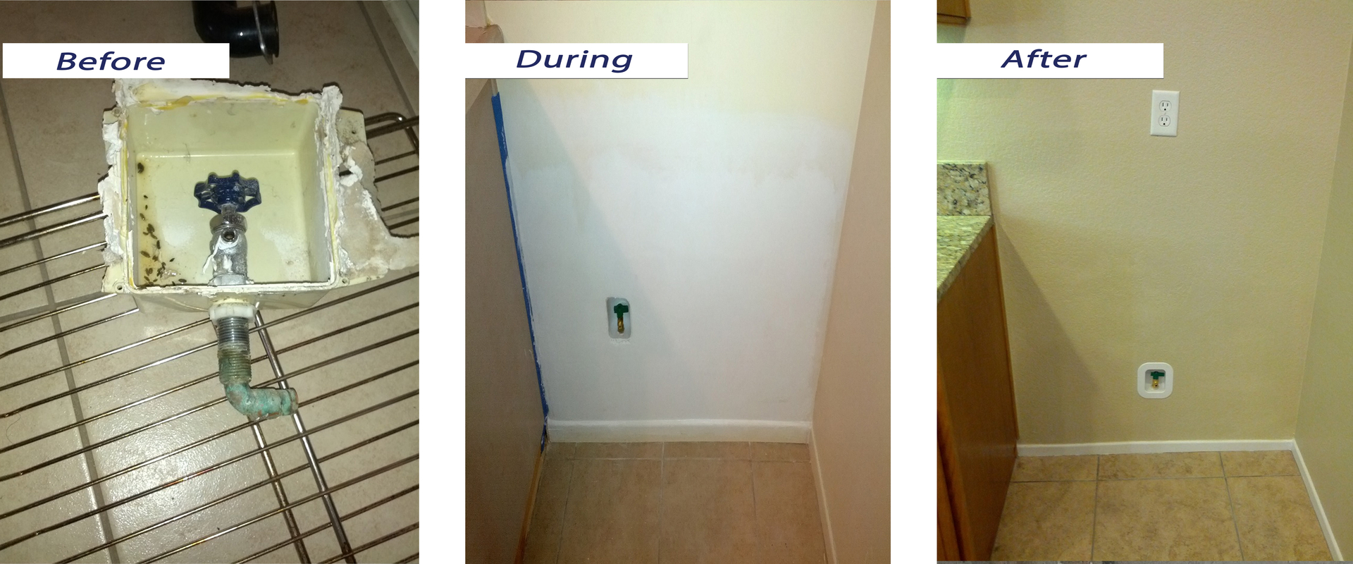 Flood Reconstruction Water Damage Repair Kitchen And Bathroom - Bathroom remodel temecula