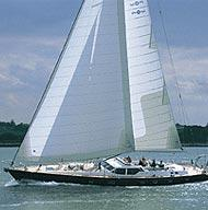 Oyster sailing yacht