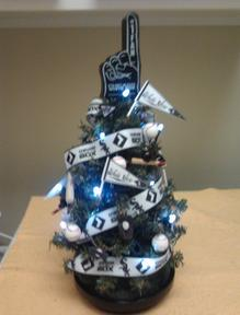 Chicago White Sox Lighted Tree-$29.95