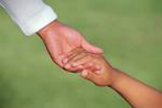 Family Law-Holding Child's Hand