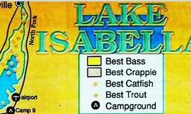 where to find fish lake isabella, how to fish tips