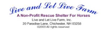 Live and let live animal rescue farm