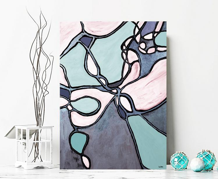 Abstract Art for Home Decor Wall Art by Dubois Art