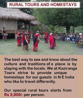 Rural and Tribal Tours for Northeast India