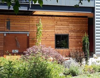 Tight Knot Western Red Cedar Rain Screen Cladding