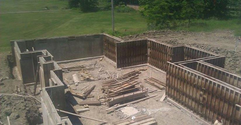 Poured Concrete Walls Great Lakes Poured Walls Utica Mi