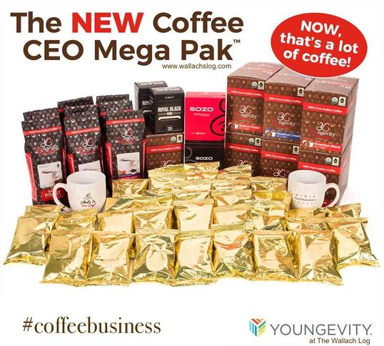 Be The Change Coffee CEO Mega Pak™