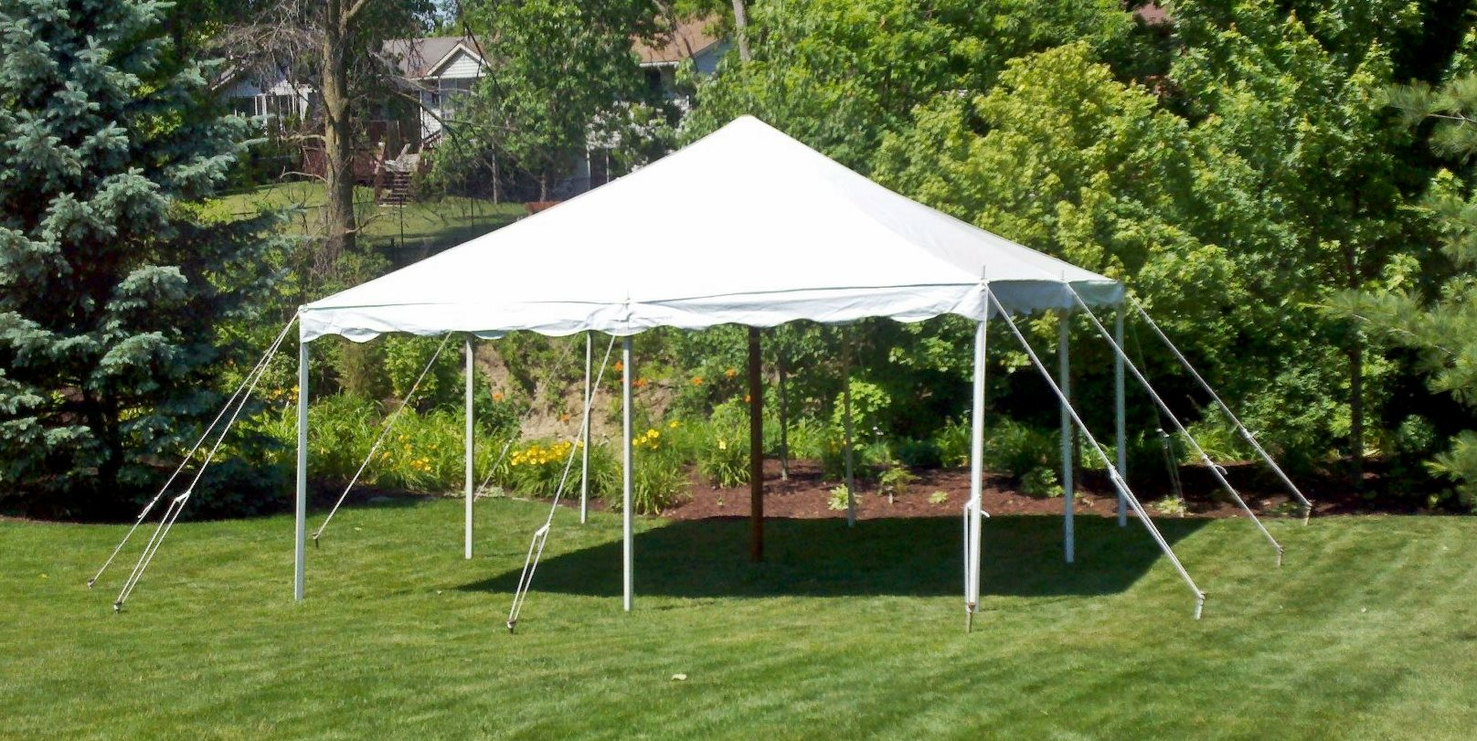 16x16 White Party Tent