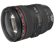 Canon EF 24-105mm f/4 lens Rental