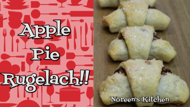 Apple Pie Rugelach Cookies, Noreen's Kitchen