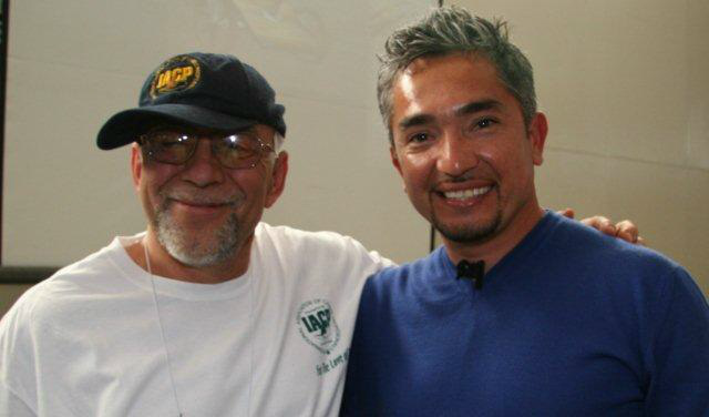 Bob Maida NYC Dog Trainer with Dog Whisperer Cesar Millan