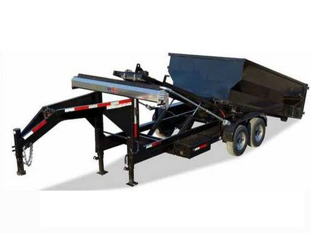 8 x 20 Roll Off Dump trailer Kit With Extra Dumpsters