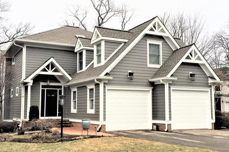Aged Pewter Hardie Siding Contractors Fairfax, VA