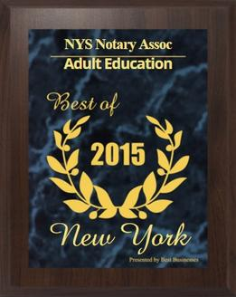 NYS Notary Public Association Licensing Classes