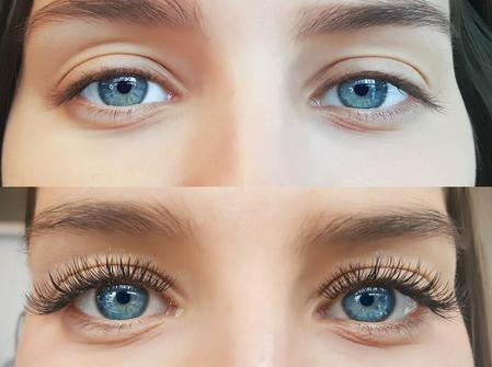 Eyelash Extensions, Airbrush Makeup - Color Vanity By Lucia ...
