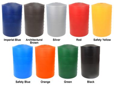 Poletector light pole base cover standard colors