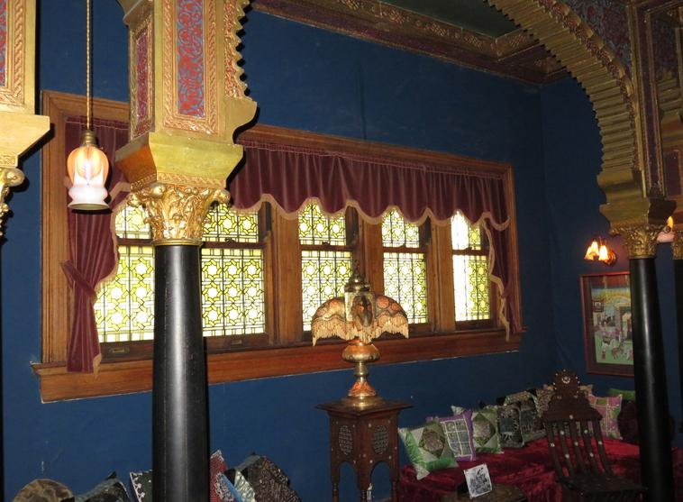 Turkish Room at Rockcliffe Mansion in Hannibal Missouri