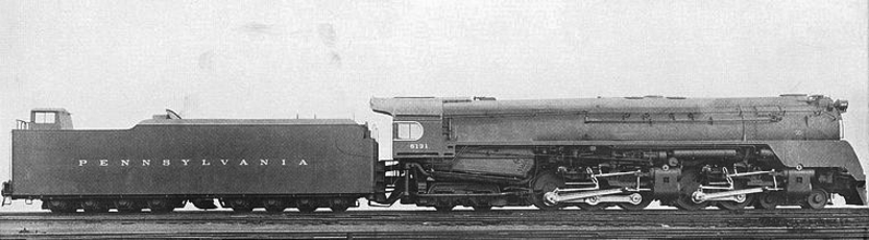 The Pennsylvania Railroad's Q2 Duplex Locomotive.