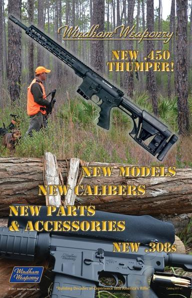 2017 Windham Weaponry Catalog Cover