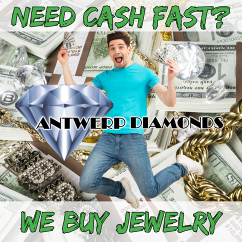 Get cash for Jewelry - Antwerp Diamonds of Roswell Georgia