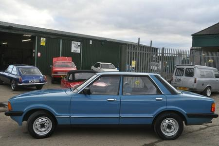 1981 FORD CORTINA L MK5 LOW MILES MOT EXCEPTIONAL CONDITION
