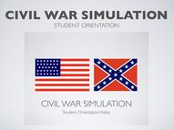 Civil War Student Orientation Presentation