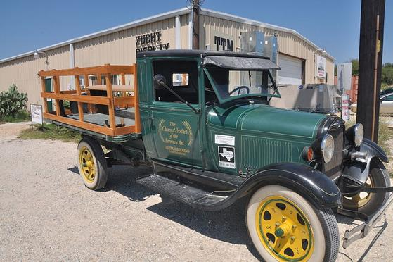This 1929 Ford Model AA Truck once delivered beer for the Falstaff Brewery.