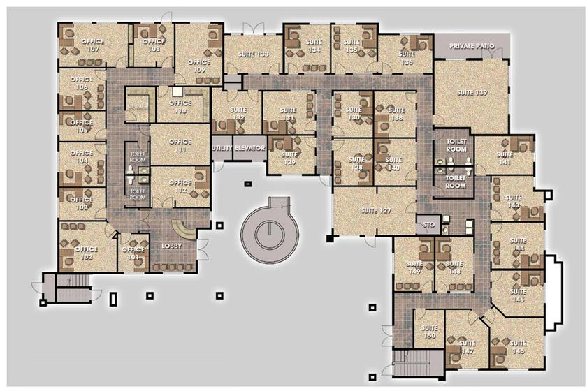 Small Offices Las Vegas Templeton Plaza
