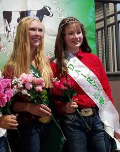 4-H Larimer County Dairy royalty