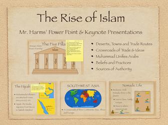 The Rise of Islam History Presentation