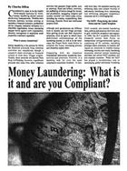 Money Laundering - What is it and are you compliant - Offshore Finance Magazine
