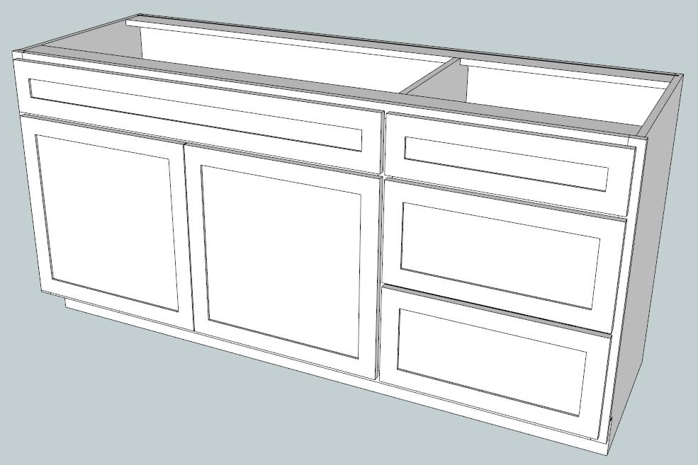 Google Sketchup Cabinet Models