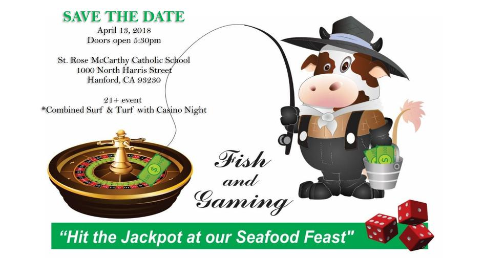 Fish & Gaming Night at St. Rose-McCarthy
