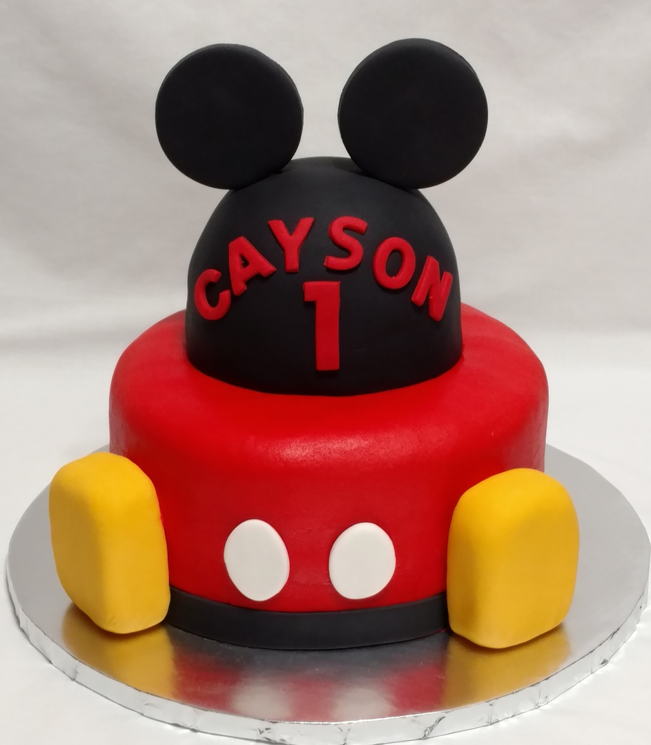 Happy Birthday Mickey Mouse Cake Brithday Cake