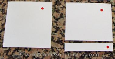 preparing montessori 3-part classified cards - montessori print shop