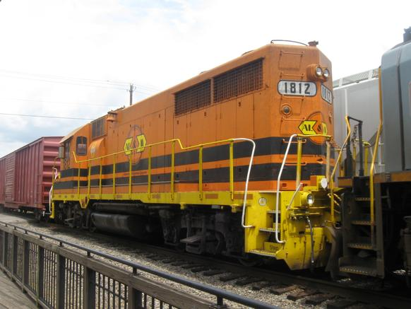 Arkansas, Louisiana and Mississippi Railroad No. 1812 in Irondale, Alabama in 2010.