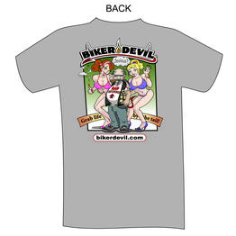 Biker Devil T-shirt - Excuse to ride #45